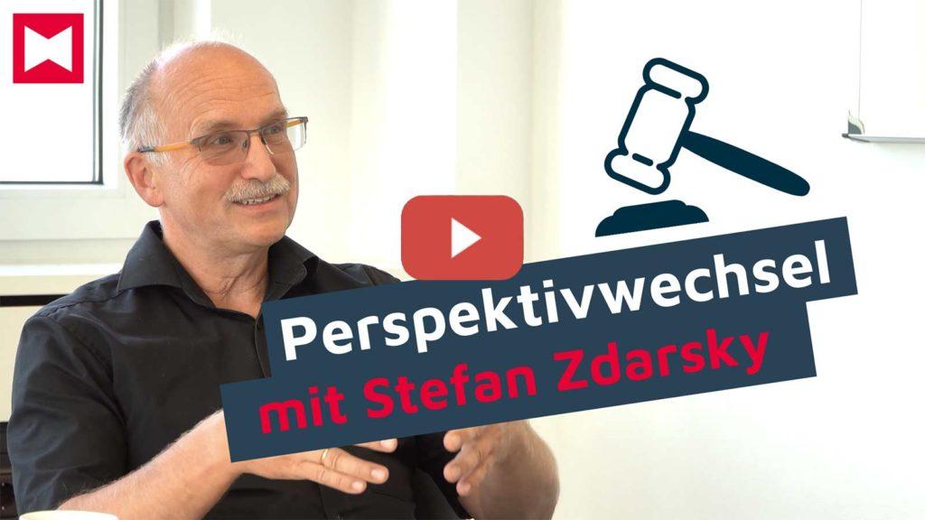 Perspektivwechsel mit Stefan Zdarsky zum Thema DSGVO